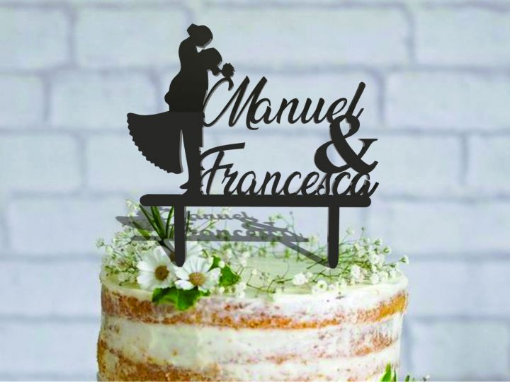 Sposini per torta: trovate il cake topper che vi rappresenta
