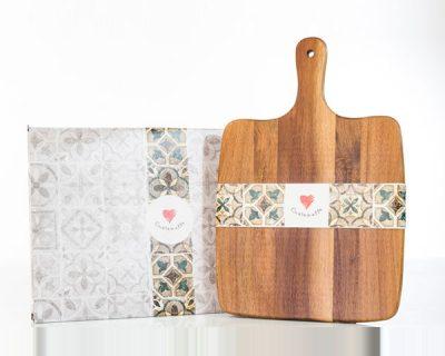 Tagliere in legno Cuor d'Amalfi