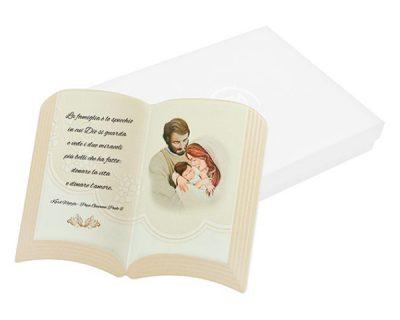 Icona libro Sacra Famiglia